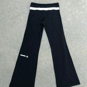 Lululemon Bell Bottom Flare Wide Yoga Pants Tights